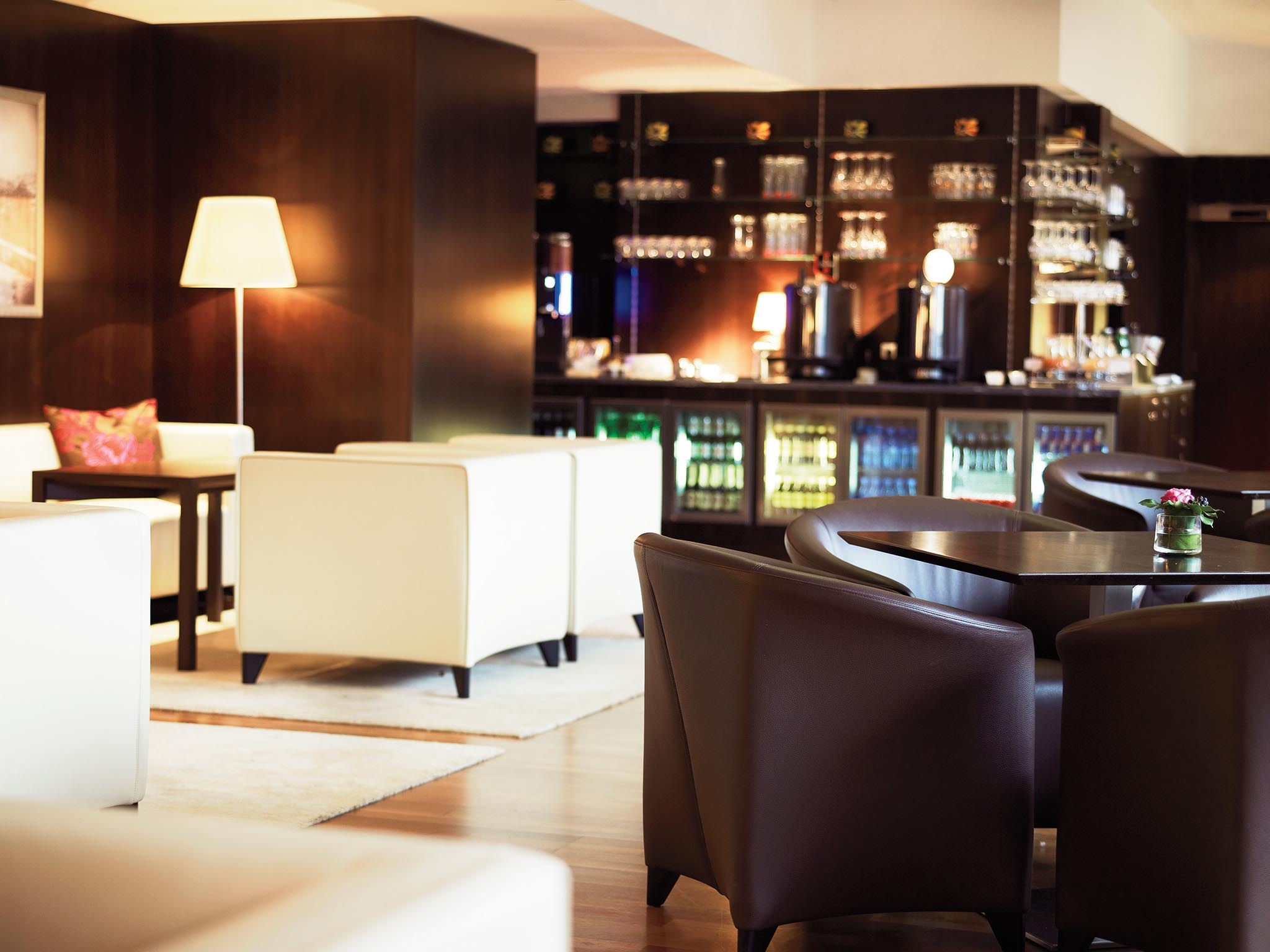 Club Lounge im Sheraton Grand Salzburg Luxus Hotel