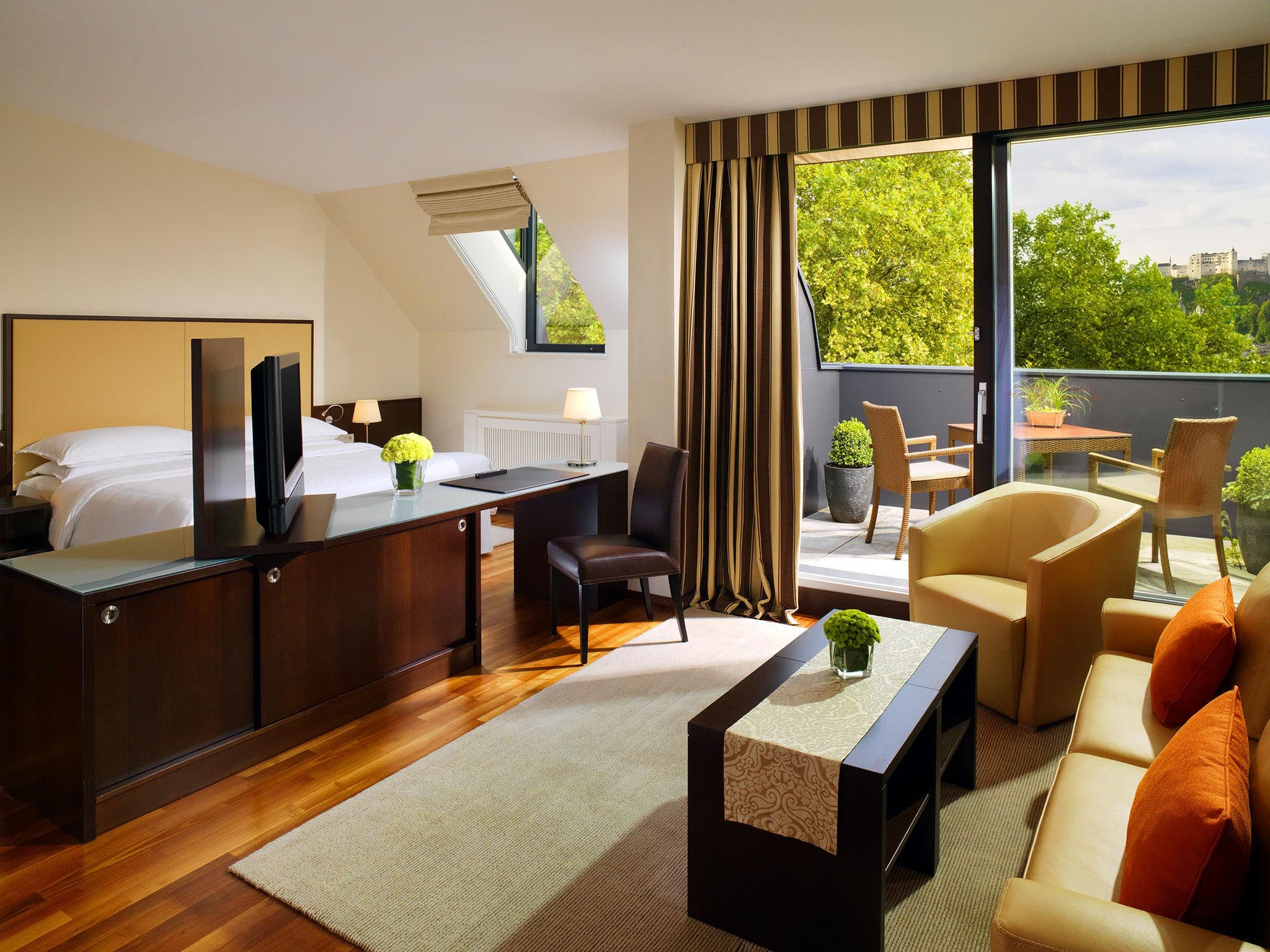 Sky Suites at the Sheraton Hotel Salzburg