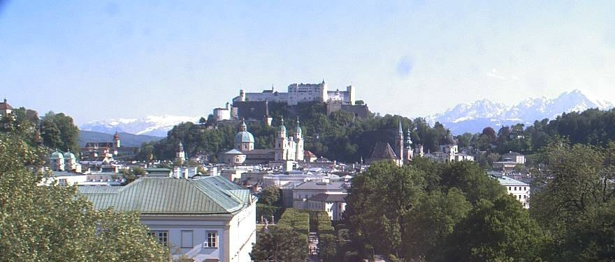 A favourite view from Sheraton Salzburg Hotel